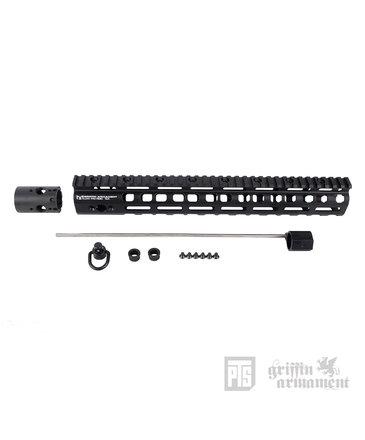"PTS PTS Griffin Armament Low Pro RIGID M-LOK Rail 13.5"""