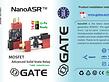 GATE GATE NanoASR 3rd Gen MOSFET with eFuse