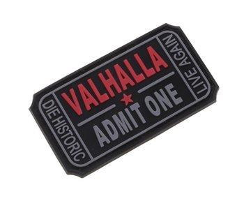 DDT Valhalla Admit One PVC patch
