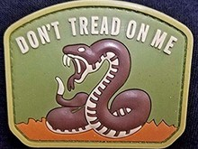 DDT DDT Don't Tread On Me PVC patch