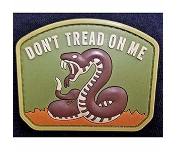 DDT Don't Tread On Me PVC patch