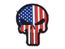 DDT DDT Punisher Skull PVC patch