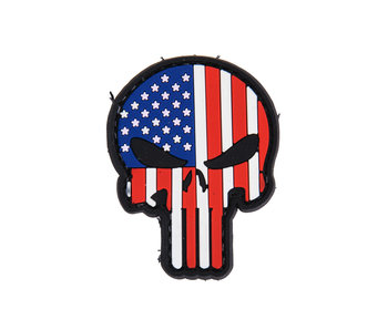 DDT Punisher Skull PVC patch