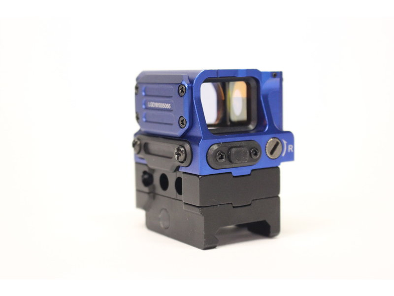 Airsoft Extreme AEX FC1 Stack 2 MOA red dot sight - BLUE