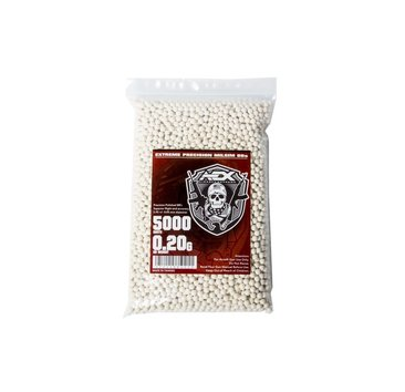Airsoft Extreme Case of 0.20g BBs 5000 ct, 20 bags