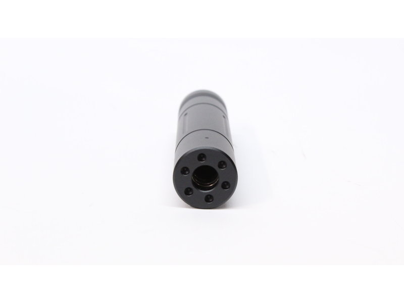 Castellan notched silencer, 155mm, 14mm CCW thread