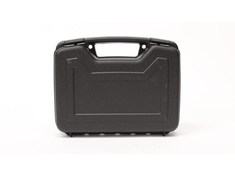 "Single 10"" Handgun Case, Hard Plastic, Black"