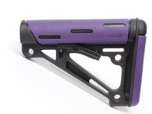 Hogue Hogue Overmolded AR buttstock PURPLE