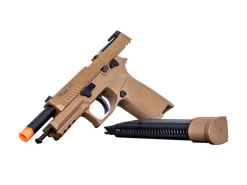 Proforce SIG Sauer Proforce Series M17 Gas Blowback Pistol with Green Gas Magazine Tan