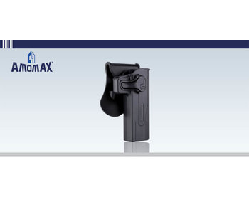 Amomax Hardshell holster for TM Hi Capa/2011 pistols, black, right hand