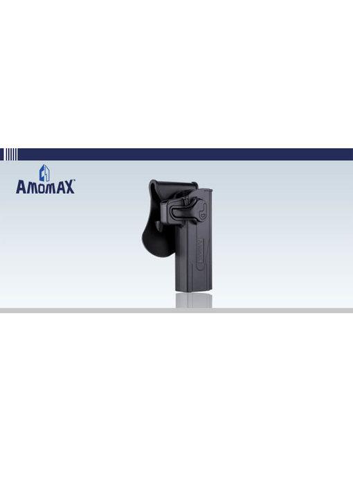 Amomax Hardshell holster for TM Hi Capa/2011 pistols, black, right hand