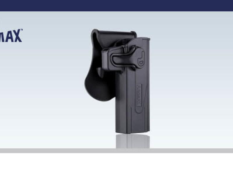 Amomax Ammomax Hardshell Holster for Tokyo Marui Hi Capa/2011 Pistols, Black