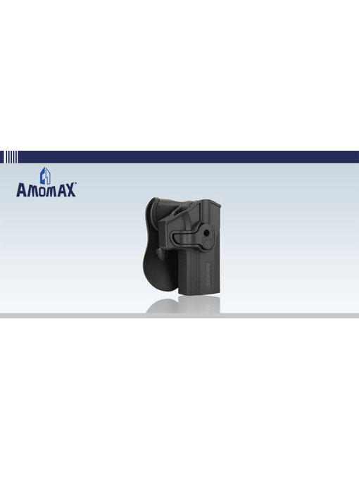 Amomax Hardshell holster for SIG M320 (M17) full size pistols, black, right hand