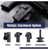 Amomax Amomax Hardshell holster for SIG P226/228/229 full size pistols, dark earth, right hand