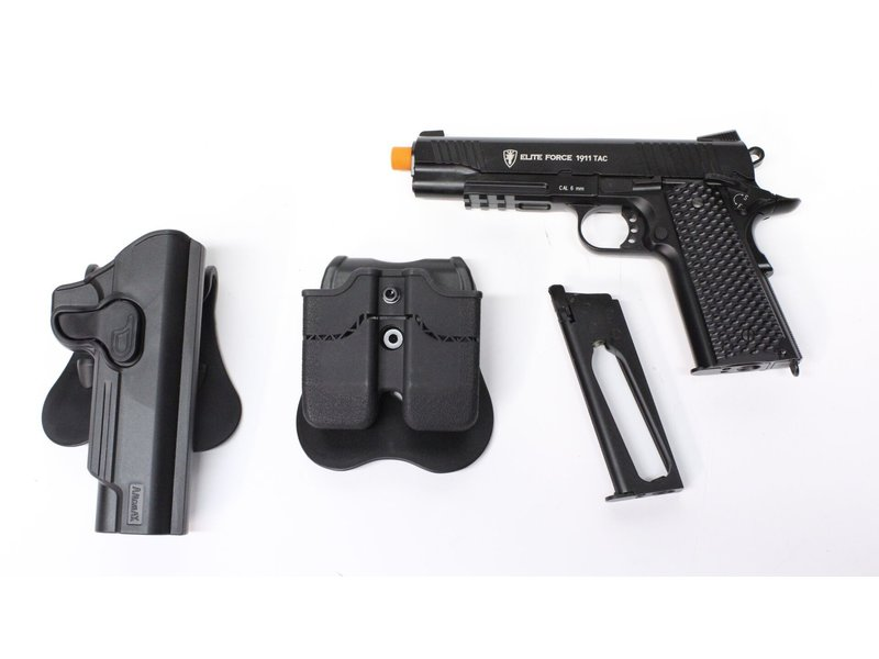 Elite Force Elite Force Tactical 1911 Gunfighter package, black