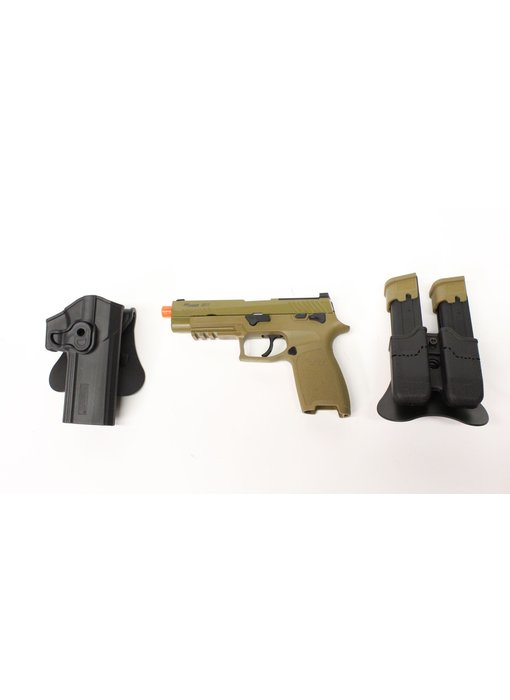 SIG Sauer M17 CO2 Gunfighter package