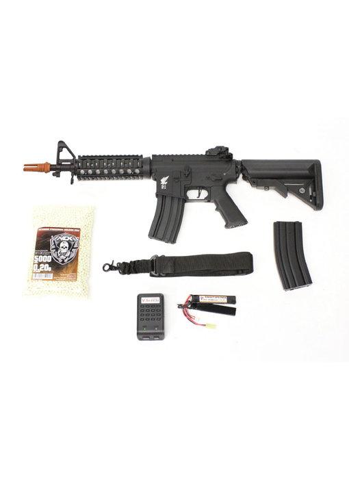 Apex M4 CQB/R electric rifle Warfighter package, black