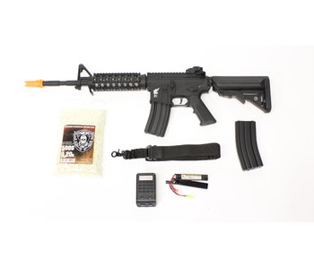Apex M4 RIS electric rifle Warfighter package, black/gray