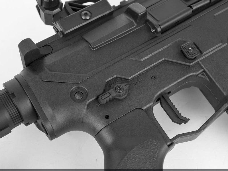 Valken Valken ASL Series TRG Long Electric M4 Airsoft Rifle Black and Grey