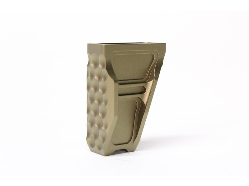 Castellan Scales Aluminum Handstop, M-Lok, and Keymod, Dark Earth