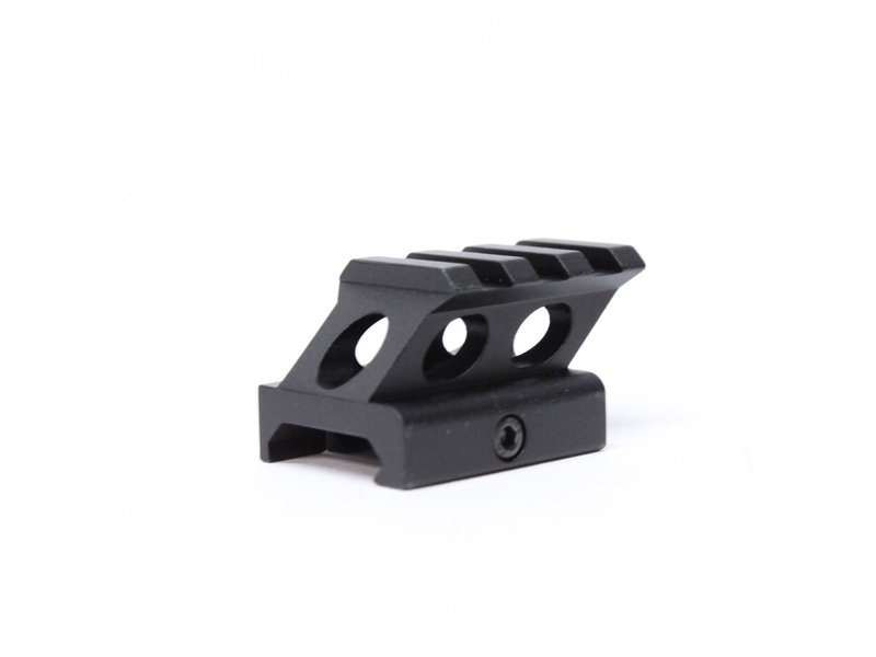 Castellan 1.4 inch Angled Riser Mount for Micro Red Dots