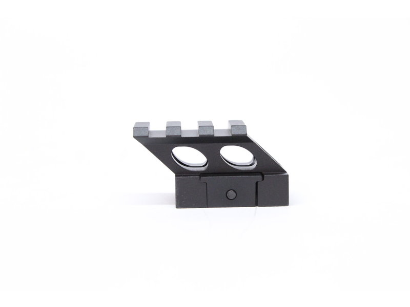 "Castellan 1.4"" angled riser mount for micro red dots"