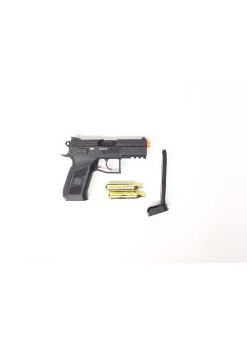 ASG CZ P-07 Duty CO2 pistol shooter package