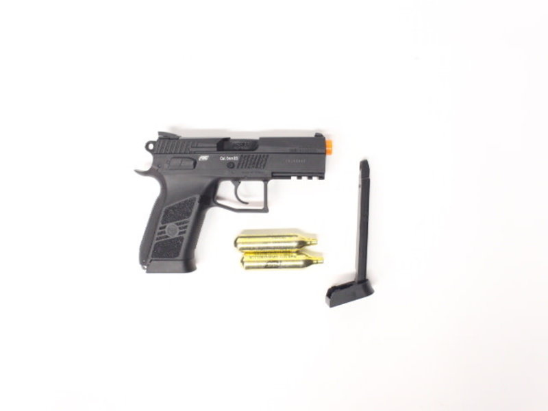 ASG ASG CZ P-07 Duty CO2 pistol shooter package