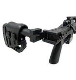 Well WWELL MB4411 M24 Octagon spring action bolt rifle, black