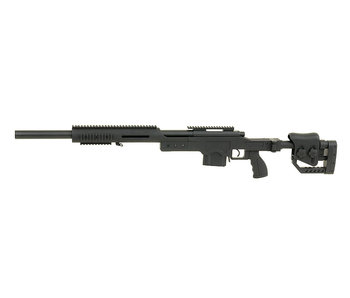 WELL MB4410 M24 spring action bolt rifle, black