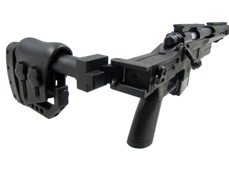 Well WELL MB4410 M24 spring action bolt rifle, black