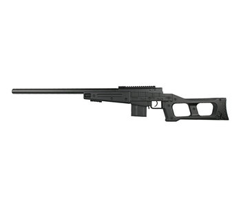 WELL MB4408 bolt action spring rifle, black