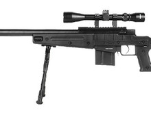 Well WELL MB4408 Bolt Rifle w/Scope+Bipod BLK