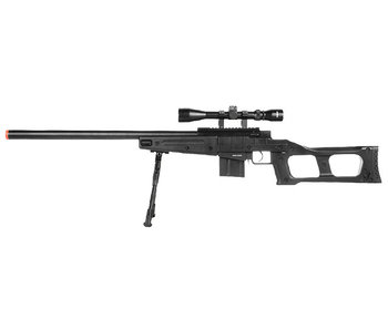 WELL MB4408 Bolt Rifle w/Scope+Bipod BLK