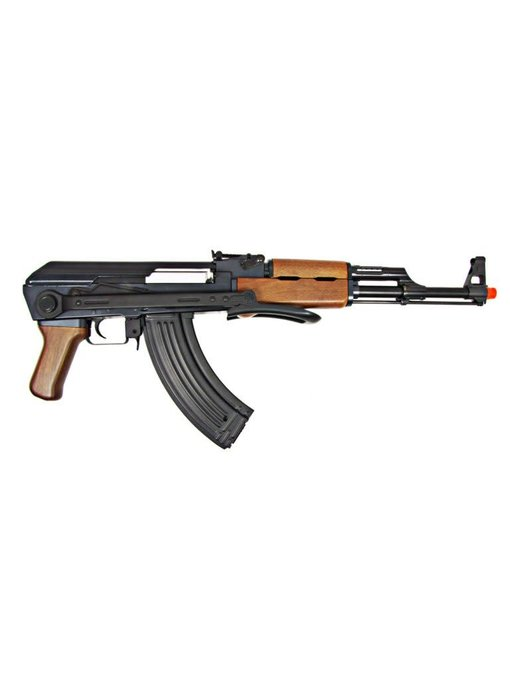 JG AK47S Folding Stock AEG, Wood Pattern, Battery / Charger Included