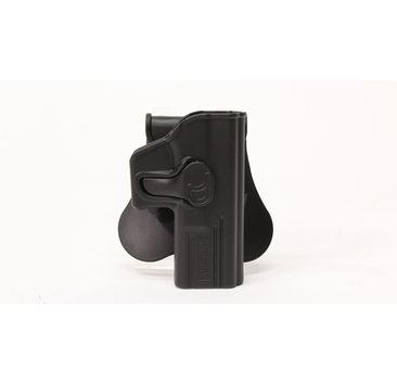 Amomax Amomax hardshell holster, Glock 19/23/32, right hand, black