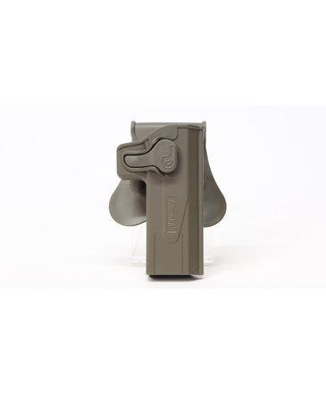 Amomax Right hand Hi Capa hardshell holster Tan