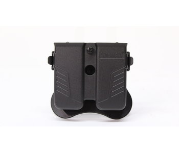 Amomax Universal Double Mag Pouch Blk