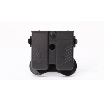 Amomax Amomax Universal Double Mag Pouch Blk