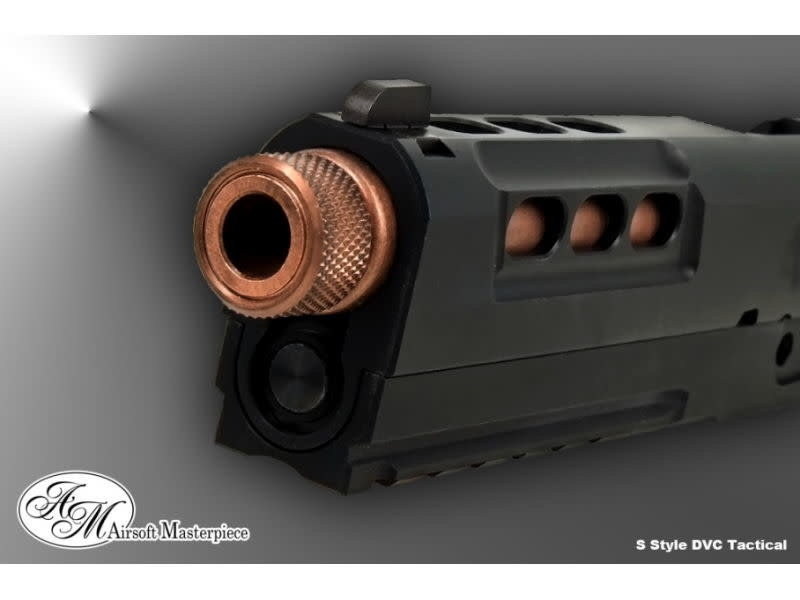 Airsoft Masterpiece Airsoft Masterpiece Custom S Style Tactical Slide Kit for Hi Capa 5.1