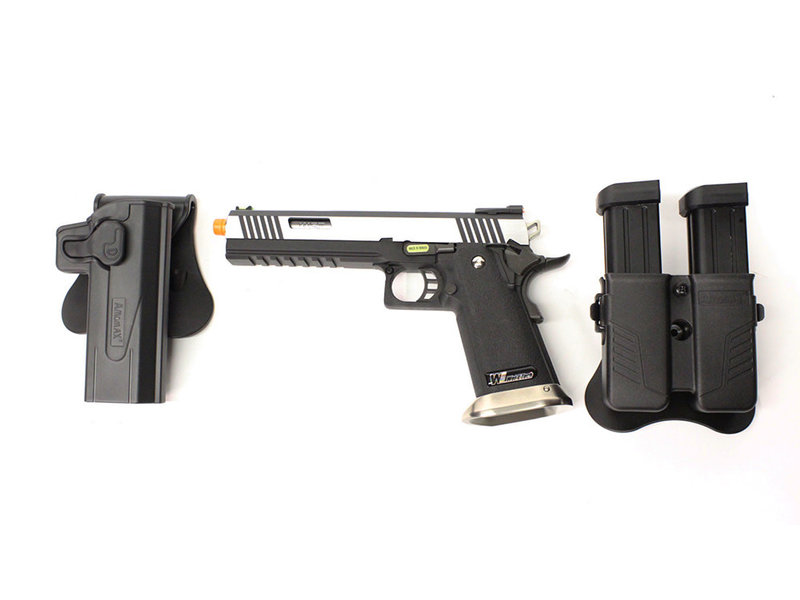 WE Tech WE 6.0 I-REX two tone gunfighter package