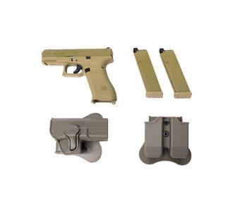 Elite Force Glock 19X gas blowback gunfighter package