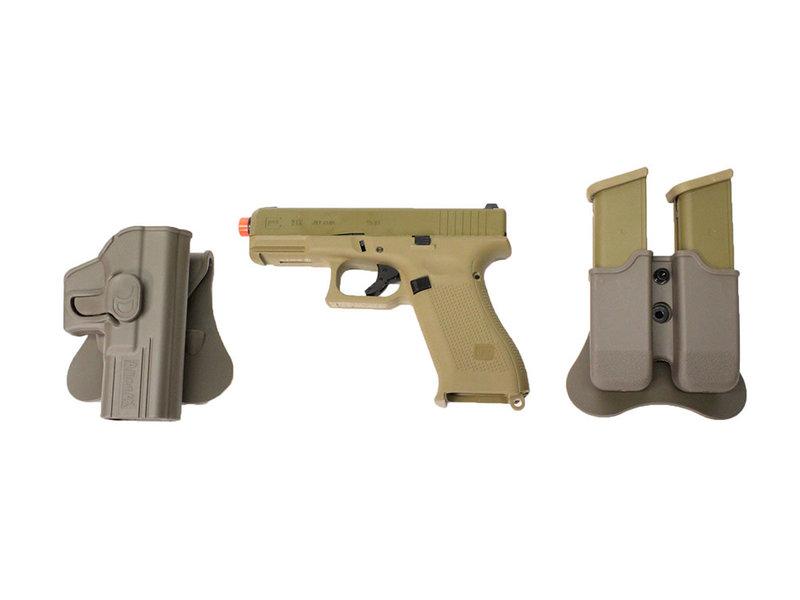 Elite Force Elite Force Glock 19X gas blowback gunfighter package