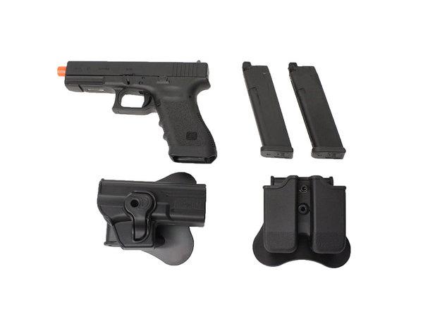 Elite Force Elite Force Glock 17 Gen4 gas blowback gunfighter package