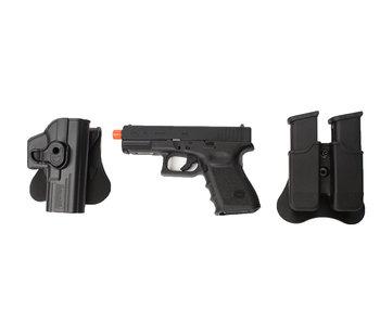 Elite Force Glock 19 Gen3 gas blowback gunfighter package