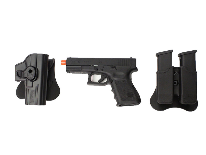 Elite Force Elite Force Glock 19 Gen3 gas blowback gunfighter package