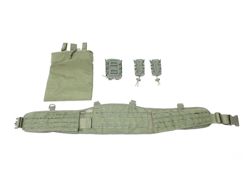 Valken AEX SPEEDSET belt rig, OD green