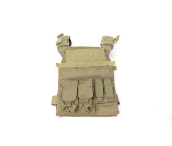 Protector plate carrier set, Coyote tan