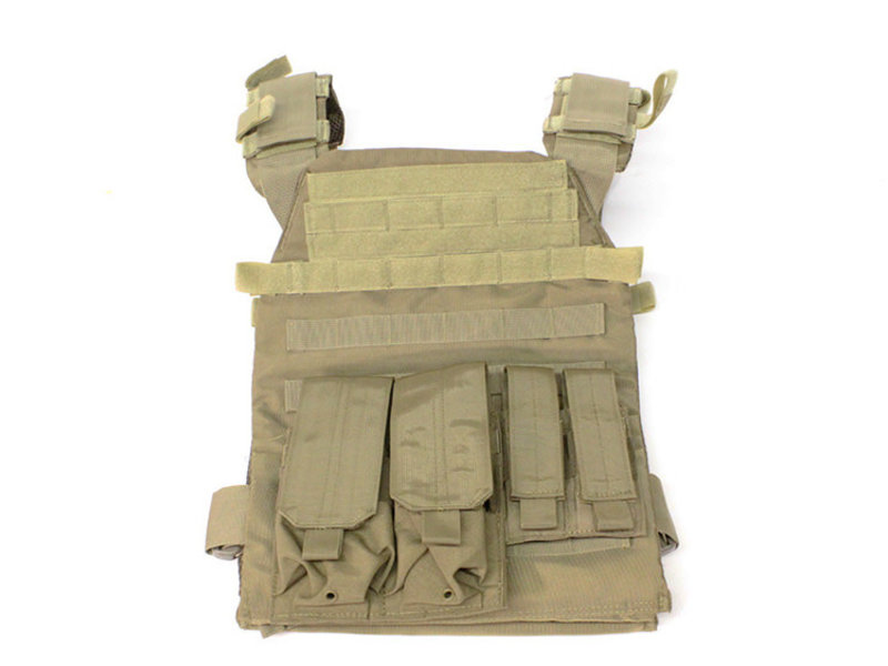 NcStar Protector plate carrier set, Coyote tan