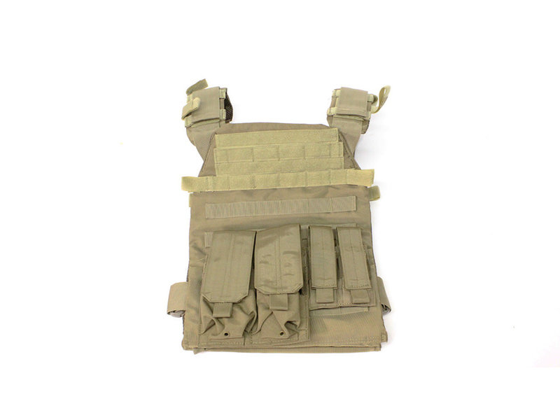 NC Star Protector plate carrier set, Coyote tan